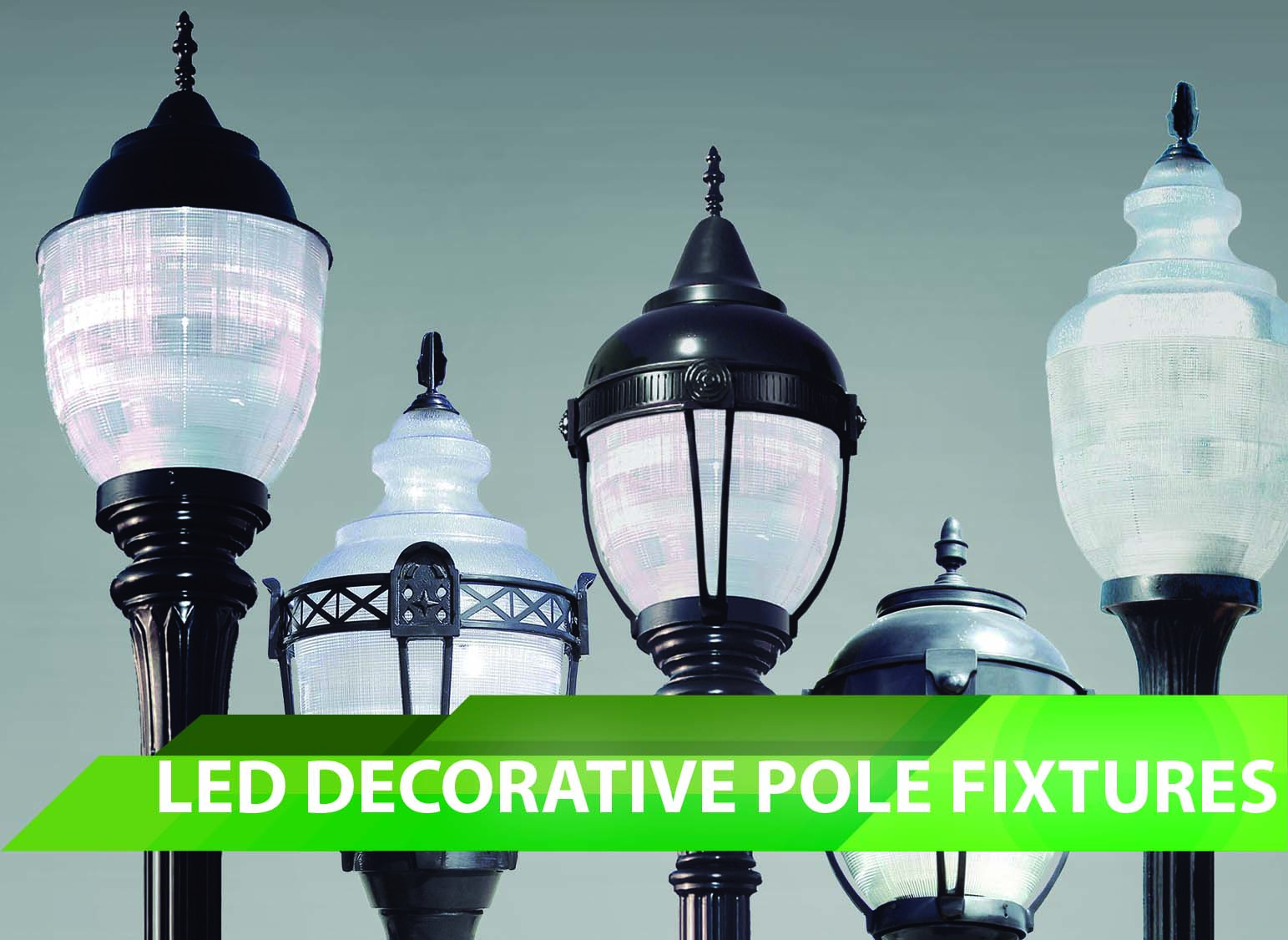 LED Decorative Pole Fixtures