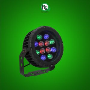 LED RGB Round Wall Washer