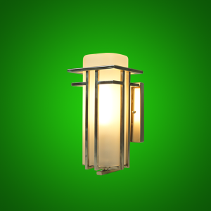 LED Art Deco Sconce Light
