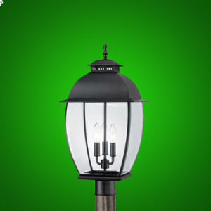 LED Coach Lantern Post Light