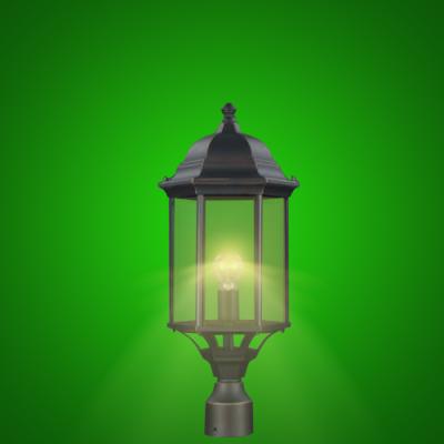 LED Traditional Pole Lamp