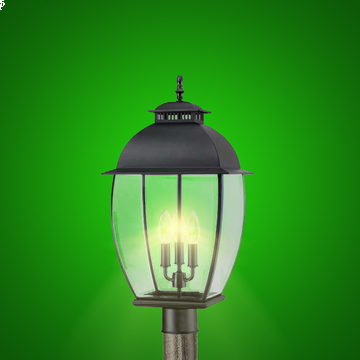 LED Coach Lantern Post Light