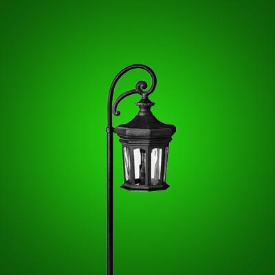 LED Scroll Garden Light