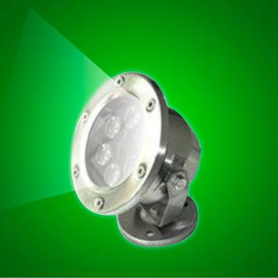 LED Stainless Steel Garden Light – White