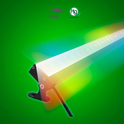 Long Linear LED Wall Washer - RGB